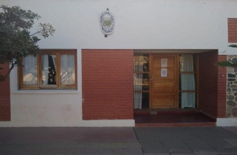 Por medidas de prevención contra el COVID-19, San Francisco solo recibe visitantes de Ayacucho y Belgrano