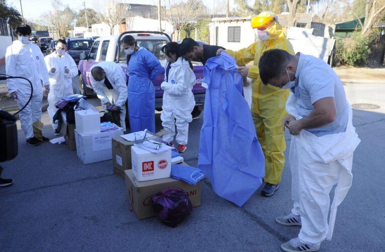 El Gobierno comenzó un exhaustivo control epidemiológico y de trazabilidad en el Barrio Tibiletti