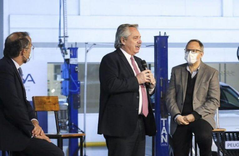 Fernández: «La Argentina se está poniendo de pie, vamos a superar la pandemia y el pasado»