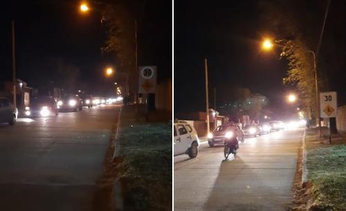 Justo Daract: Los vecinos salieron a la calle a reclamar
