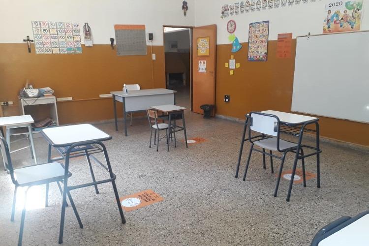 Este lunes se retoman las clases presenciales en 12 escuelas rurales de la provincia