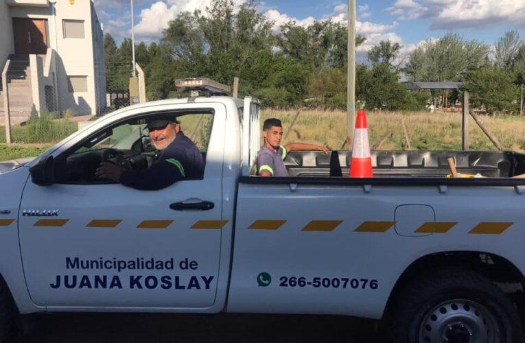Juana Koslay: Empleados municipales devolvieron la billetera que perdido un vecino