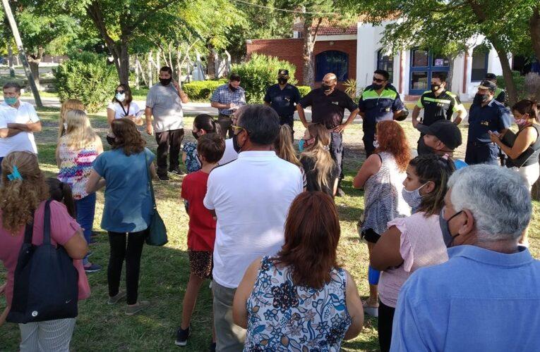 El Suyuque – Los Molles: Los vecinos lograron que la Policía instale un puesto de control y patrullaje