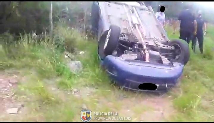 Vuelco fatal en la Autopista 25 de Mayo