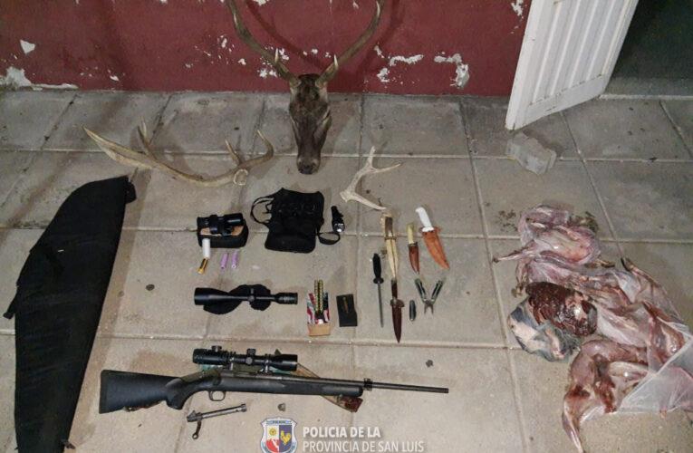 Buena Esperanza: Aprehendieron a dos cazadores furtivos