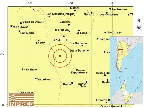 Se registró un temblor al sur de Beazley