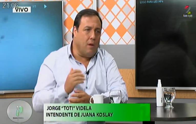 Juana Koslay: Jorge «Toti» Videla asegura que su gestión es un modelo único en Argentina
