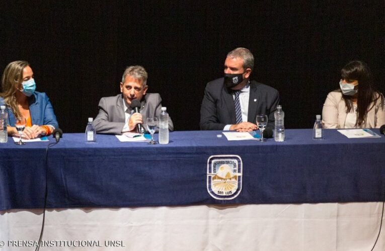 La UNSL presentó el Programa Universidad y Municipios