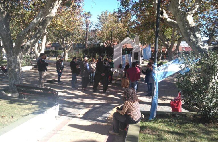 Agreden a periodistas que cubrían movilizaciones contra restricciones en Merlo y en Villa Mercedes