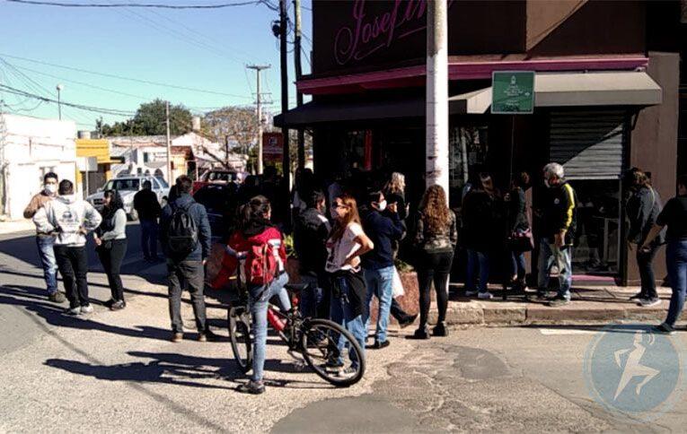 Villa de Merlo: Incidentes entre comerciantes, policías y Defensa del Consumidor