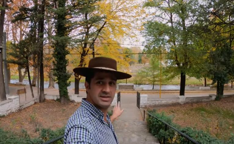 El Trapiche: El Intendente difundió en un video cómo es un día en su vida