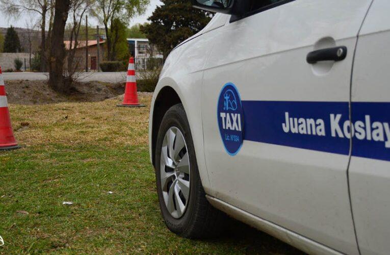Juana Koslay: La Municipalidad exceptúa a los taxistas del pago de tasas para renovar habilitación anual y otros ítems