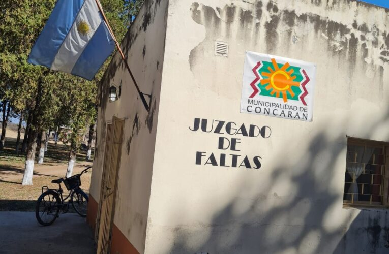 Concarán: Polémico pedido de remoción del Juez de Faltas Municipal