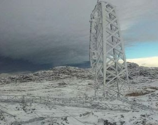 Merlo y el Valle de Conlara sin luz por congelamiento en el sistema de alta tensión de Córdoba