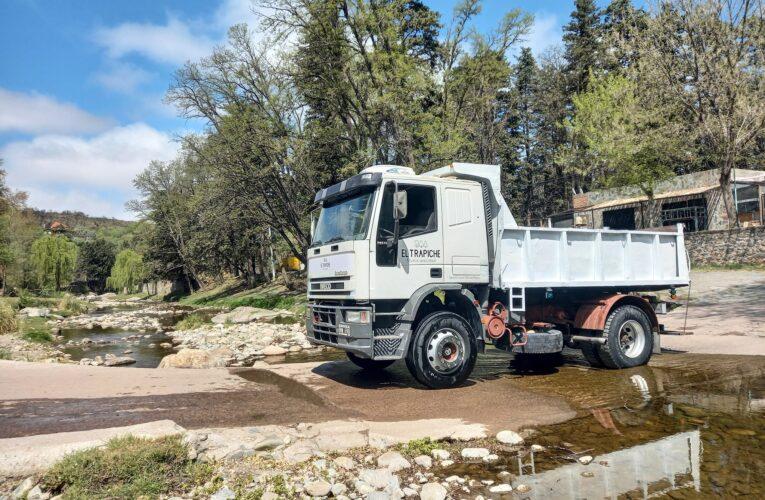 La Municipalidad de El Trapiche sumó un camión a su parque automotor